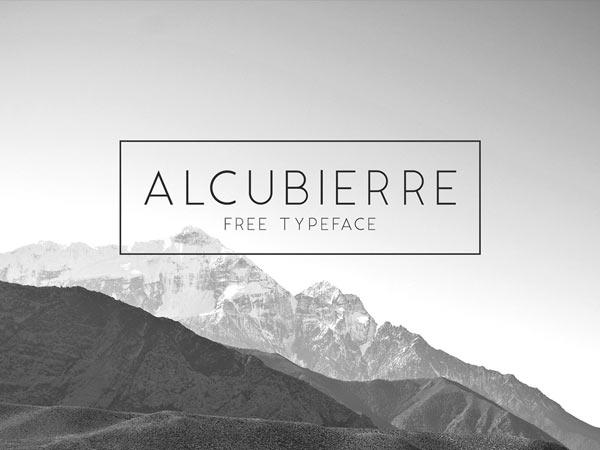 Alcumbierre Free Typeface