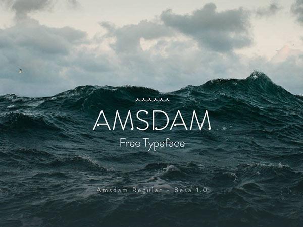 Amsdam - Free Font