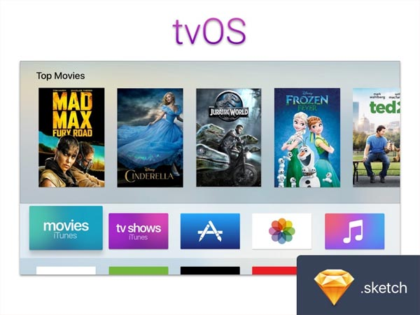 Apple tvOS UI Kit