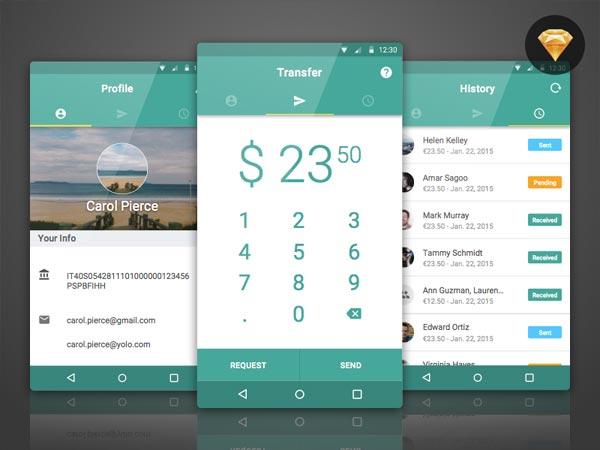 BankTag - Material Design App