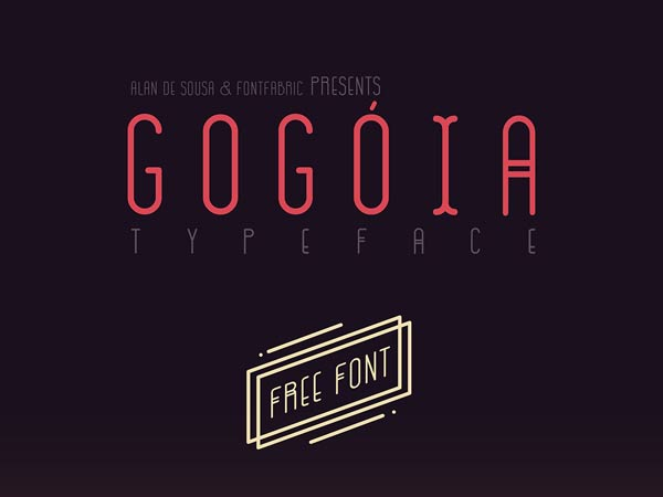 GOGOIA - Free Font
