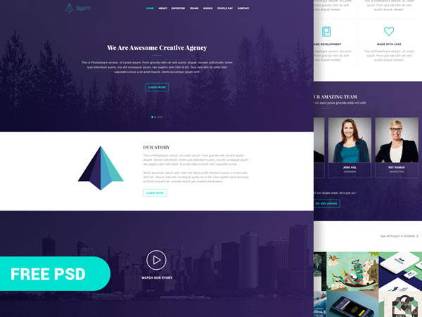 Tajam - Agency Website Template