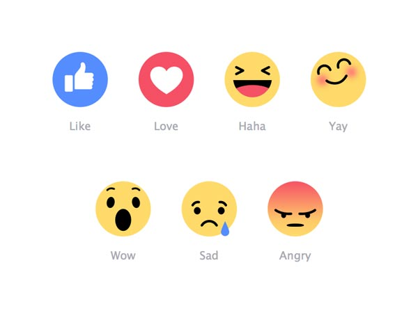 Facebook Reactions - Emoji