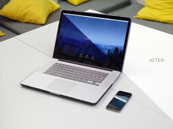 Free Macbook Pro - Mockup