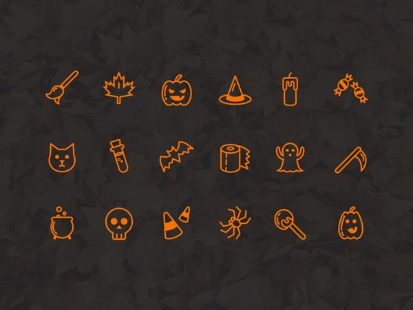 Halloween - Icon Set
