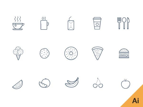 Kitchen - Icon Set