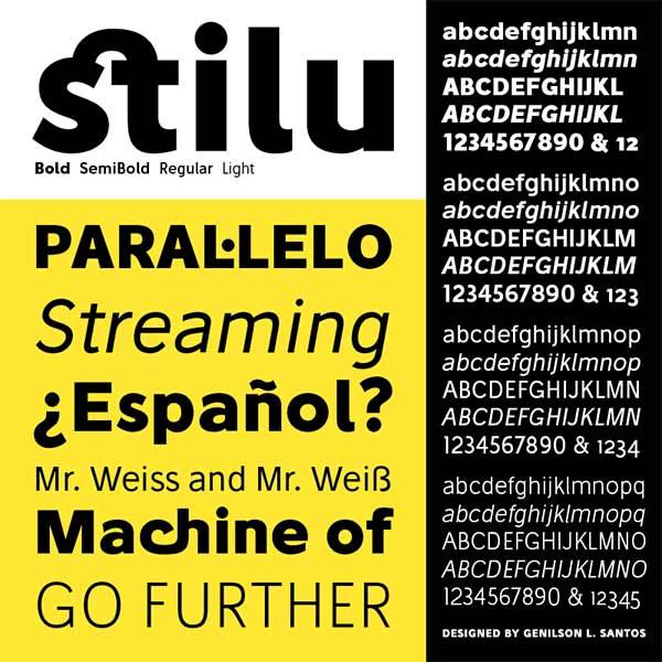 Stilu - Free Font