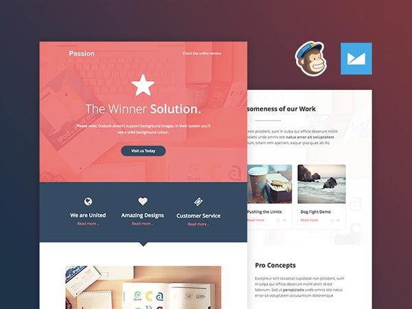 The Passion - Email Template