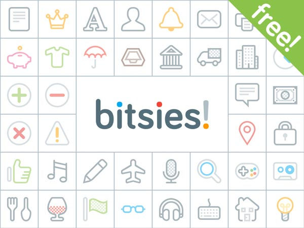 bitsies! - 140+ Free Icons