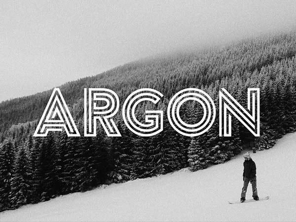 Argon - Free Font