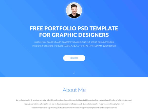 Eskulap - Portfolio Website Template