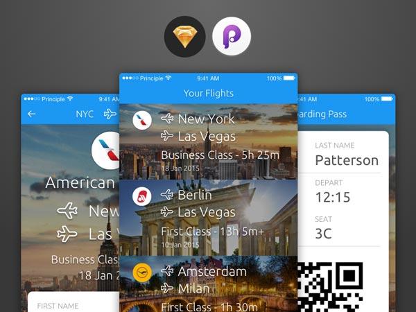 FlyBox - Sketch App Template