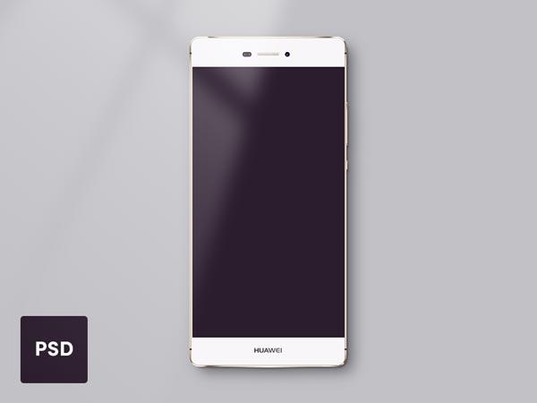 Huawei P8 - PSD Mockup