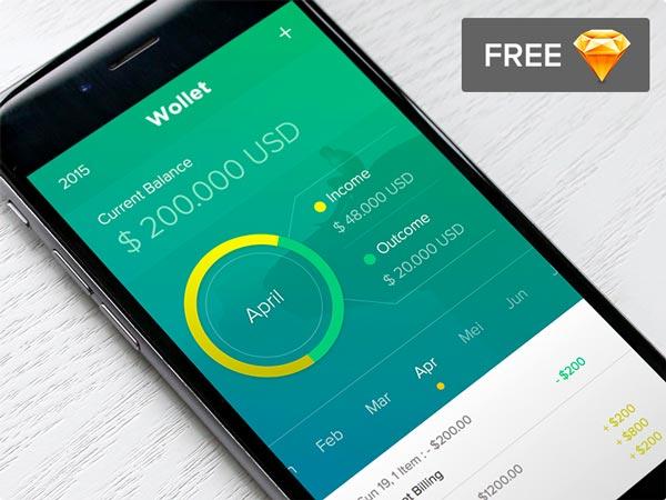 Wollet - App Design