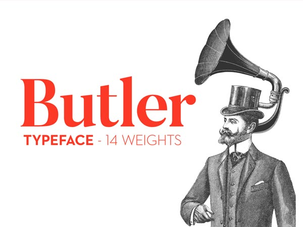 Butler - Free Typeface