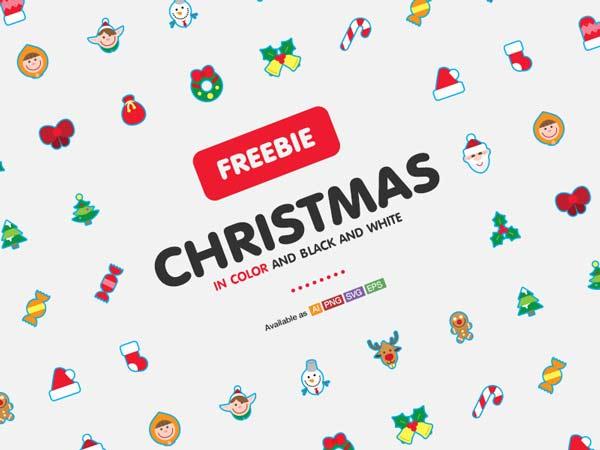 Christmas icons - free