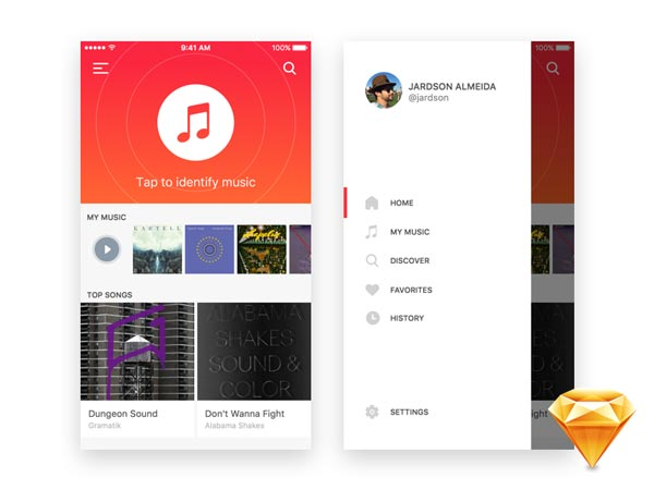 Music Indentifier - iOS App