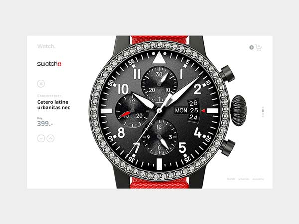 Watch - Shop Template