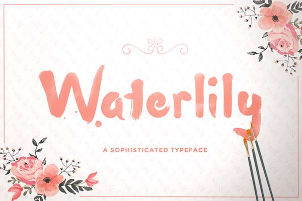 Waterlily - Free Font