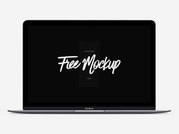 MacBook - PSD Mockup