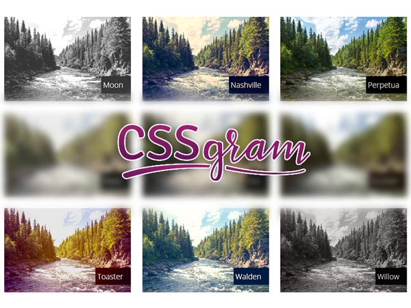 CSSGram - Instagram Filters in CSS