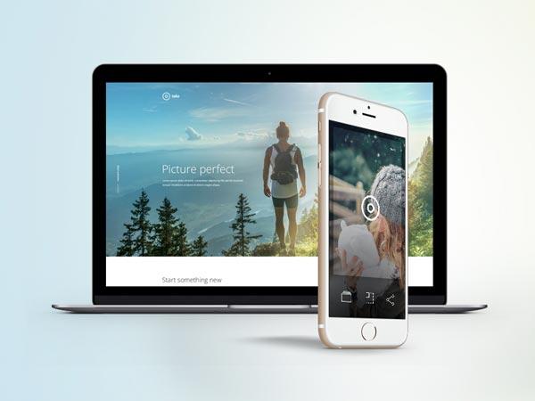 Take - App Landing Page Template
