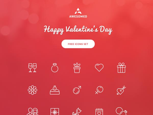 Valentine's Day - Free Icons