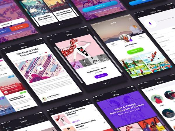 Avital - Mobile UI Kit