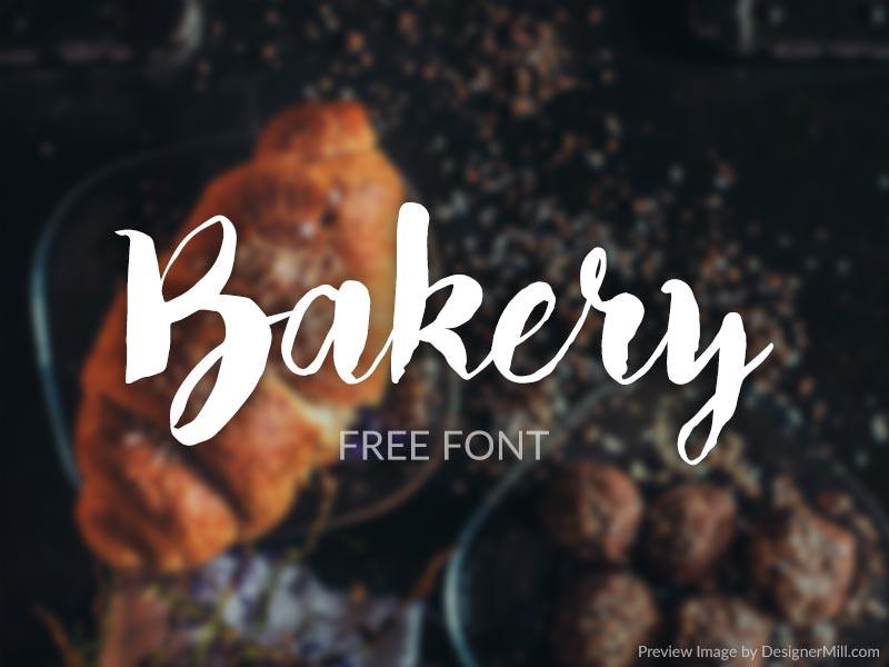 Bakery - Free Font