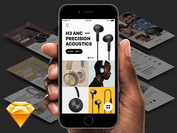 Bang & Olufsen App Concept