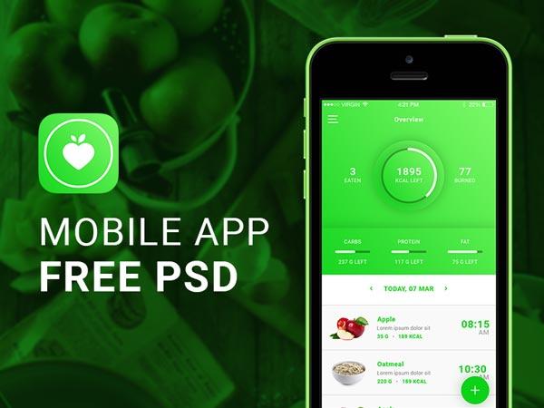 FitApp - Mobile App UI Kit