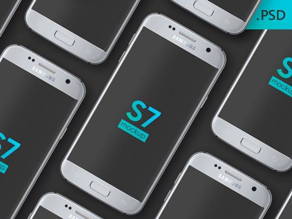 Galaxy S7 - PSD Mockup