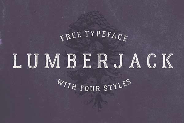 Lumberjack - Free Typeface