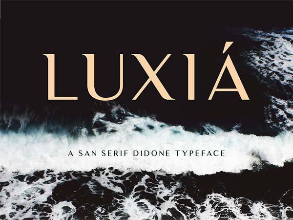 Luxia - Free Font
