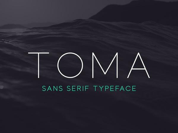 Toma Sans - Free Font