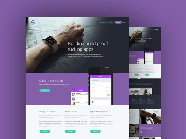 Tork - Landing Page Template