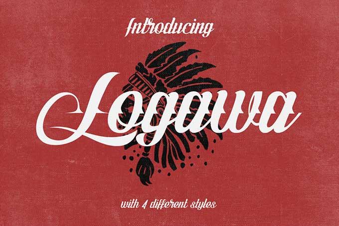 Logawa - Free Font