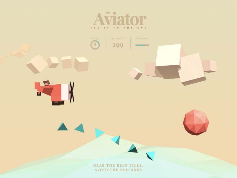 The Aviator - Basic 3D Scene Animation with Three.js