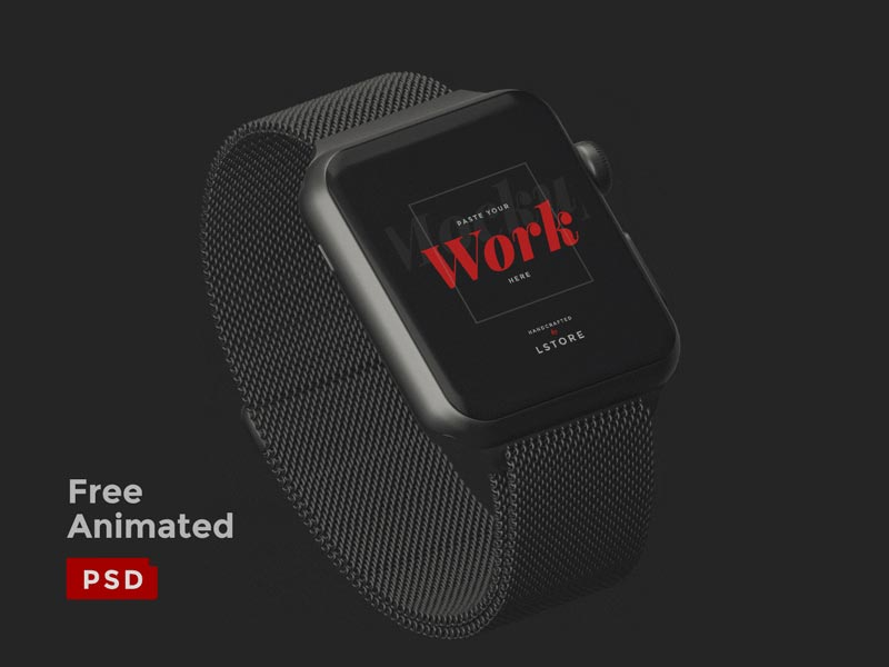 Apple Watch - Animated Mockup
