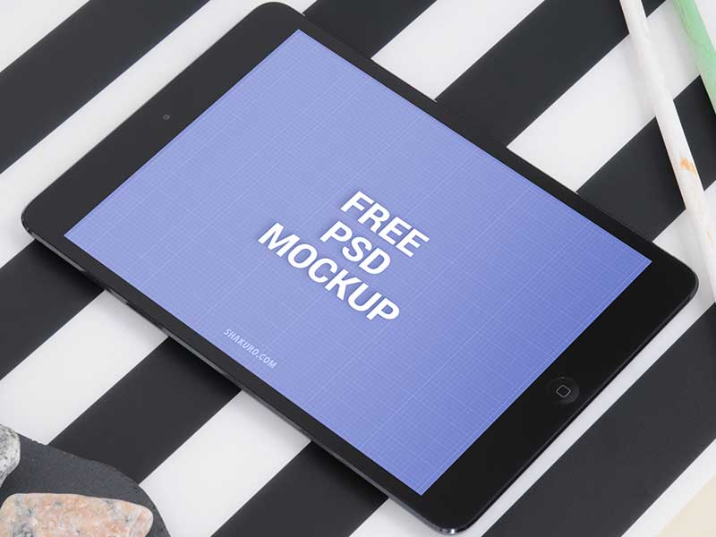 iPad Air Free PSD Mockup
