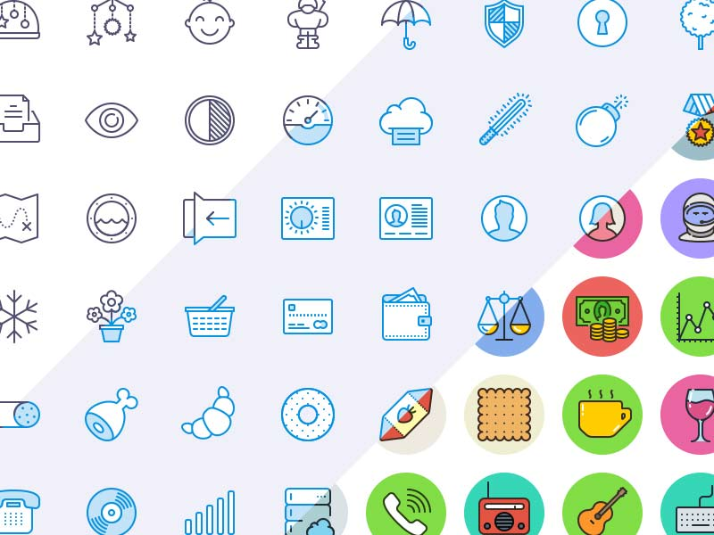 300 Free Unigrid Icons