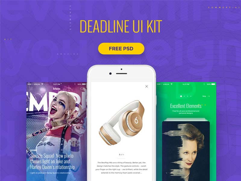 Deadline - UI Kit