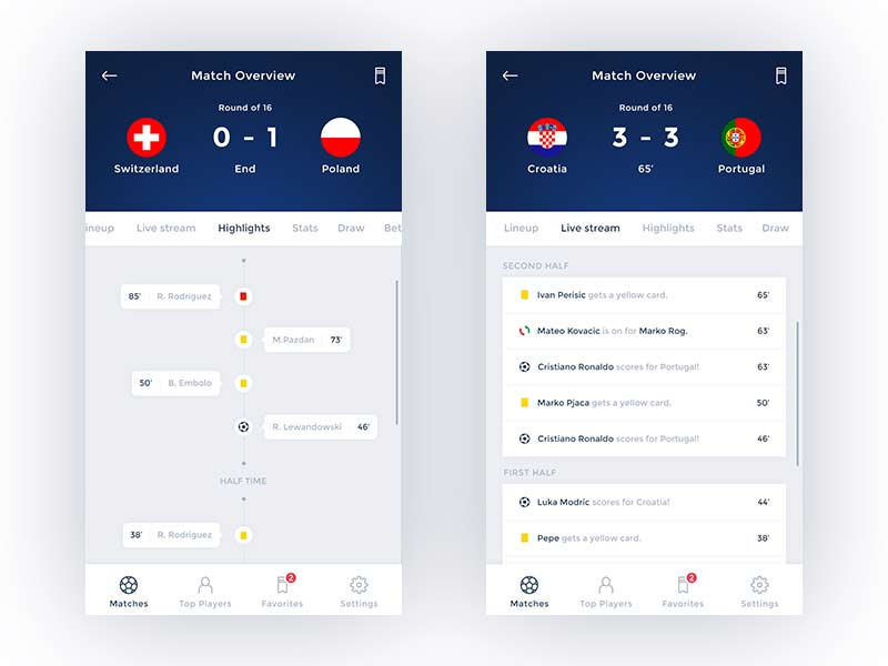 Eurobet - Mobile App UI Kit