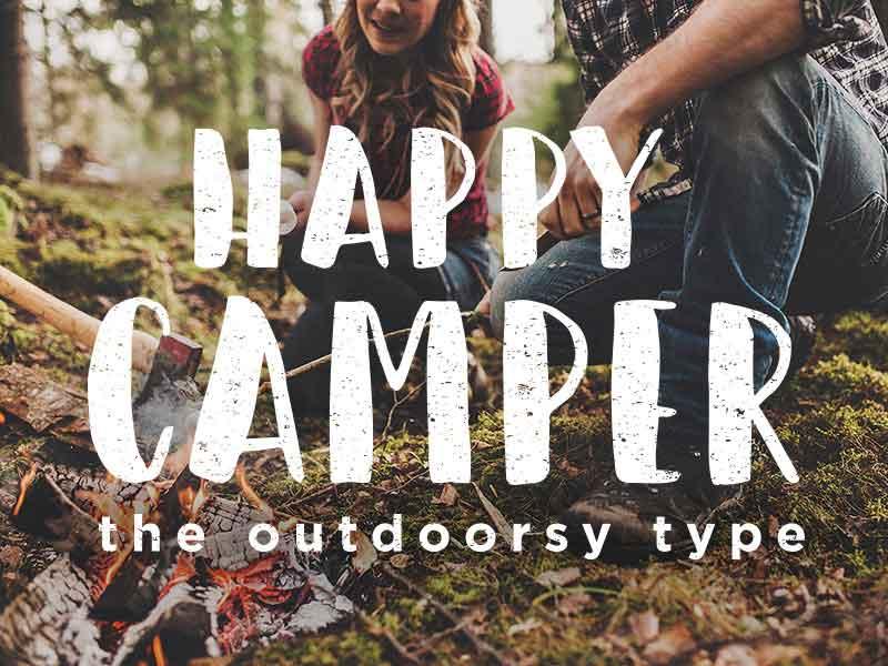 Happy Camper - Free Font