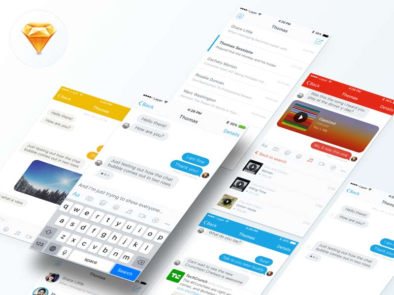 Messaging - UI Kit