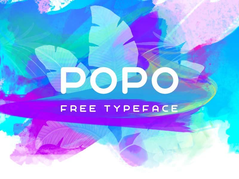 Popo - Free Font