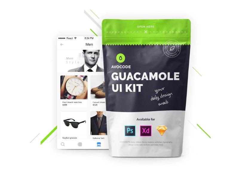 Guacamole - Free UI Kit