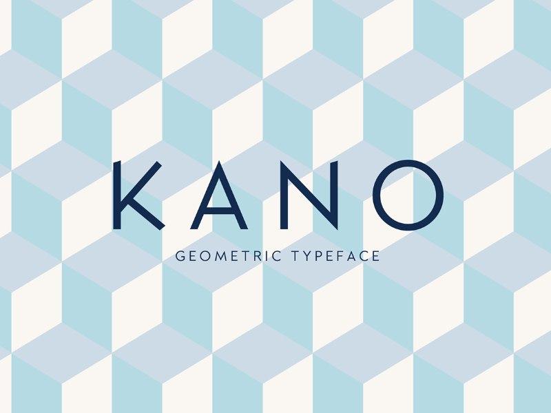 Kano - Free Font