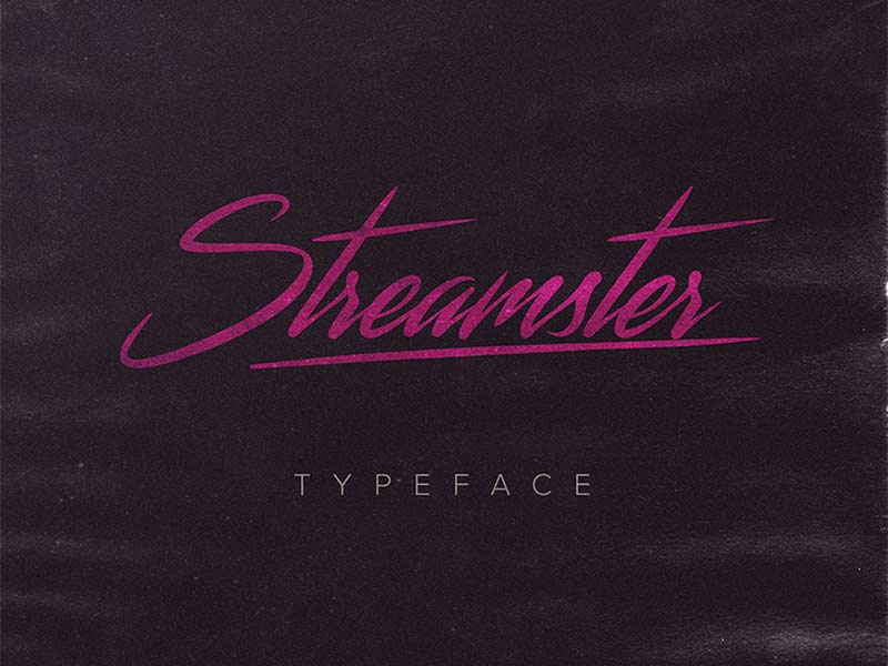 Streamster - Free Font