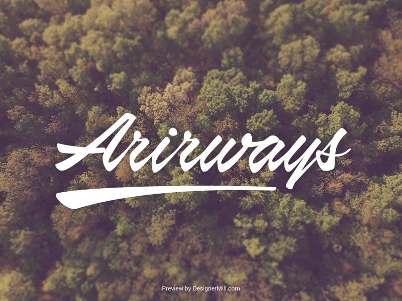 Airways - Free Font